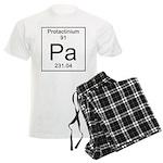 91. Protactinium Men's Light Pajamas