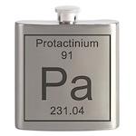 91. Protactinium Flask