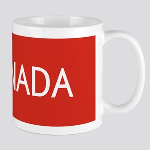 Canada (White Maple Leaf) Mug
