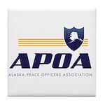 Apoa Official Logo Tile Coaster