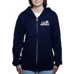 Apoa Official Logo Women's Zip Hoodie