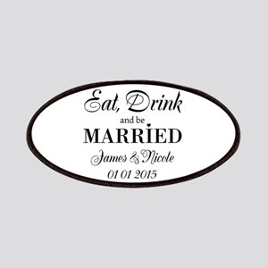 Eat drink and be married Patch
