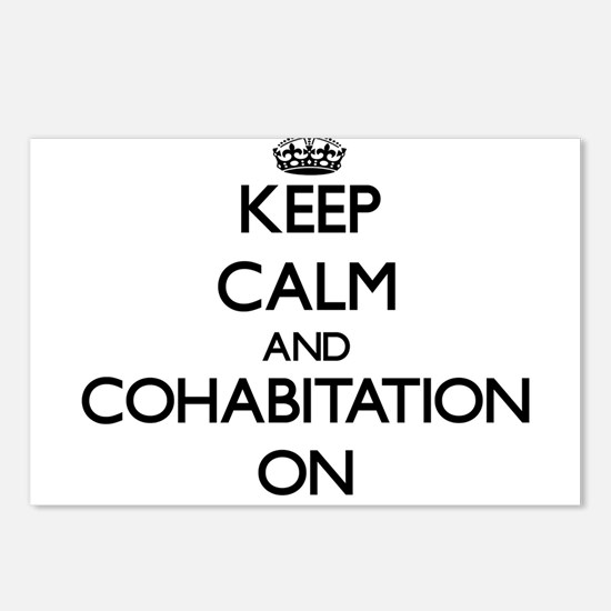 Keep Calm and Cohabitatio Postcards (Package of 8)