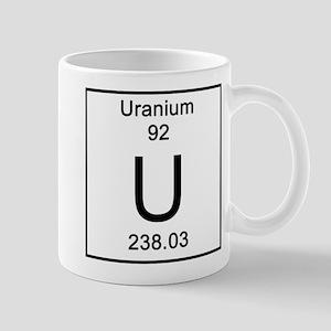 Periodic table uranium gifts cafepress 92 uranium mugs urtaz Image collections