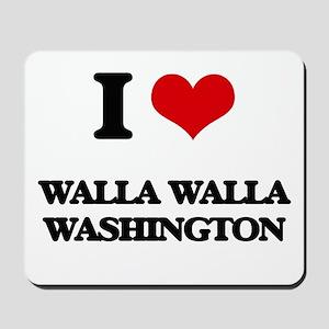 I love Walla Walla Washington Mousepad