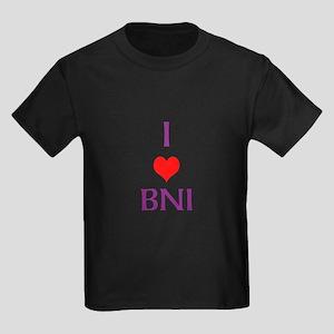 Kids Dark T-Shirt - I Love Bni