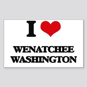 I love Wenatchee Washington Sticker