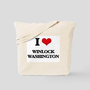 I love Winlock Washington Tote Bag
