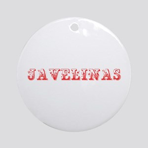 Javelinas-Max red 400 Ornament (Round)