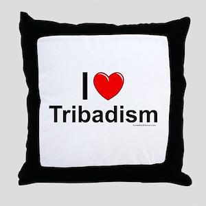 Tribadism Throw Pillow