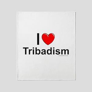 Tribadism Throw Blanket