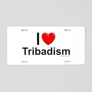 Tribadism Aluminum License Plate