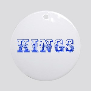 kings-Max blue 400 Ornament (Round)
