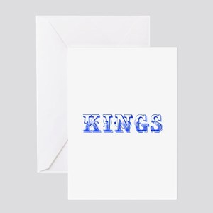 kings-Max blue 400 Greeting Cards
