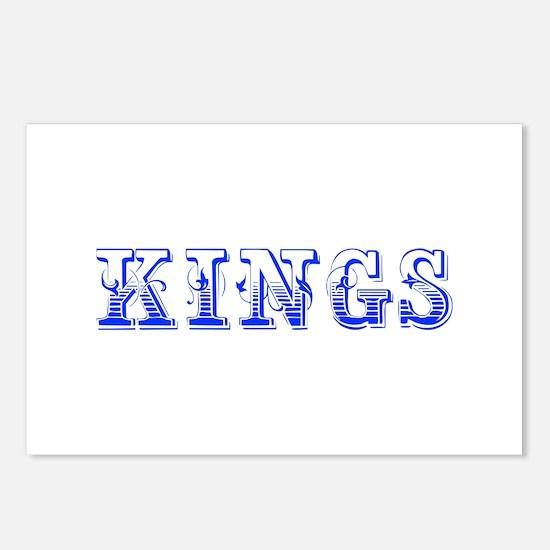 kings-Max blue 400 Postcards (Package of 8)