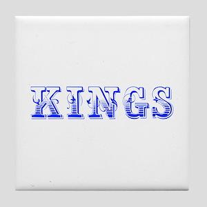 kings-Max blue 400 Tile Coaster