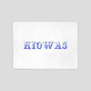 Kiowas-Max blue 400 5'x7'Area Rug