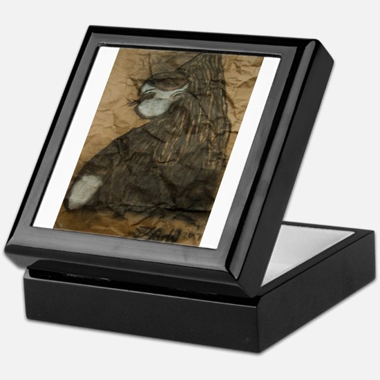 Sideways glance Keepsake Box