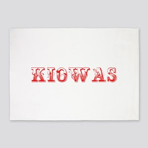 Kiowas-Max red 400 5'x7'Area Rug
