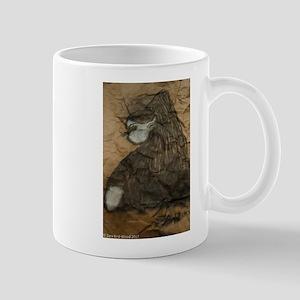 Sideways glance Mugs