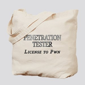 Penetration Tester: License to Pwn Tote Bag