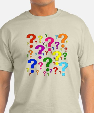 Rainbow Question Marks T-Shirt