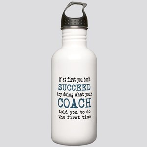 Do what your coach told you Water Bottle
