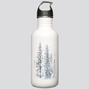 Winter Trees Stainless Water Bottle 1.0L