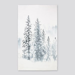 Winter Trees 3'x5' Area Rug