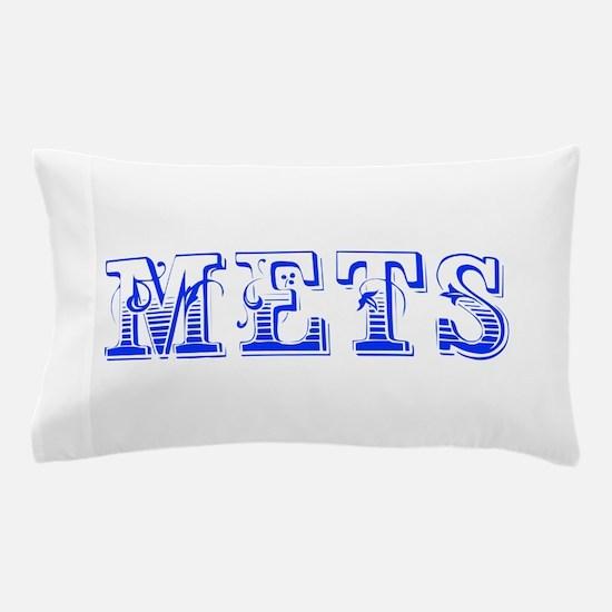 mets-Max blue 400 Pillow Case