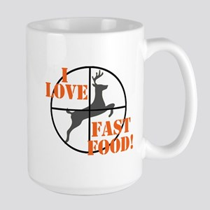 I Love Fast Food Mugs