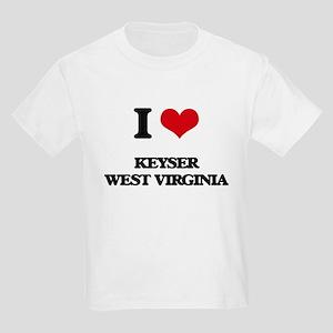 I love Keyser West Virginia T-Shirt