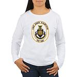 USS JOHN HANCOCK Women's Long Sleeve T-Shirt