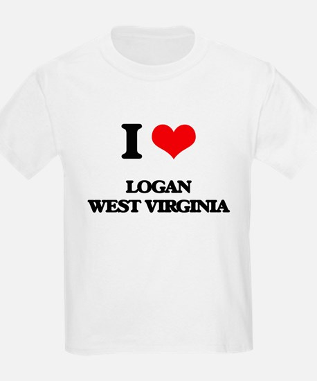 I love Logan West Virginia T-Shirt