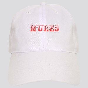 Mules-Max red 400 Baseball Cap