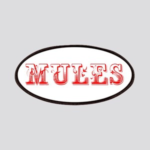 Mules-Max red 400 Patch