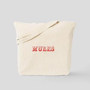 Mules-Max red 400 Tote Bag