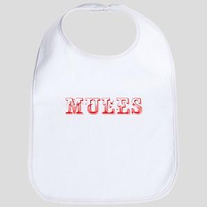 Mules-Max red 400 Bib