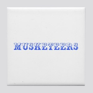 musketeers-Max blue 400 Tile Coaster