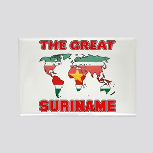 The Great Suriname Rectangle Magnet