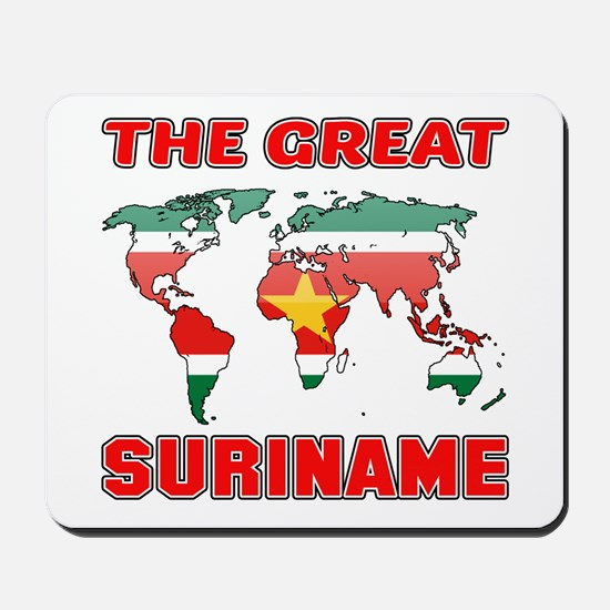 The Great Suriname Mousepad