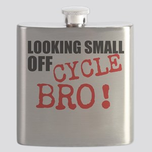 Looking Small Off Cycle Flask
