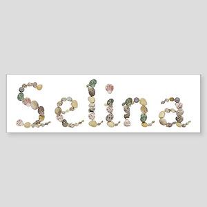 Selina Seashells Bumper Sticker