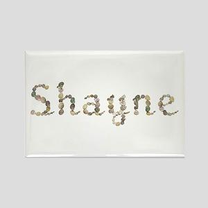 Shayne Seashells Rectangle Magnet