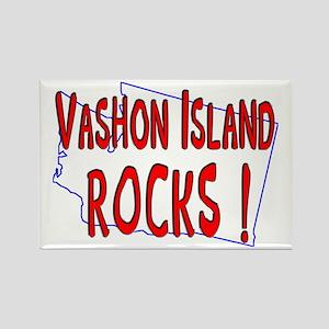 Vashon Island Rocks ! Rectangle Magnet