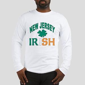 New jersey irish Long Sleeve T-Shirt