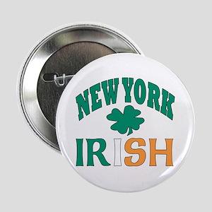 New York irish Button