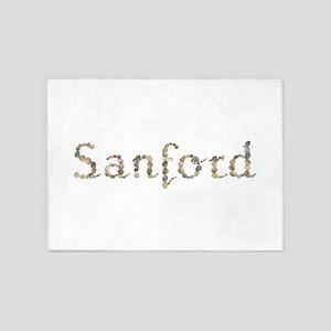 Sanford Seashells 5'x7' Area Rug
