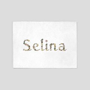 Selina Seashells 5'x7' Area Rug