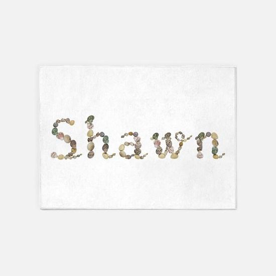 Shawn Seashells 5'x7' Area Rug